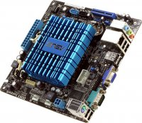 М/плата ASUS AT4NM10T-I/SI (RTL) AtomD425 Intel NM10 SVGA+GbLAN SATA Mini-ITX 2DDR-III SODIMM 184965