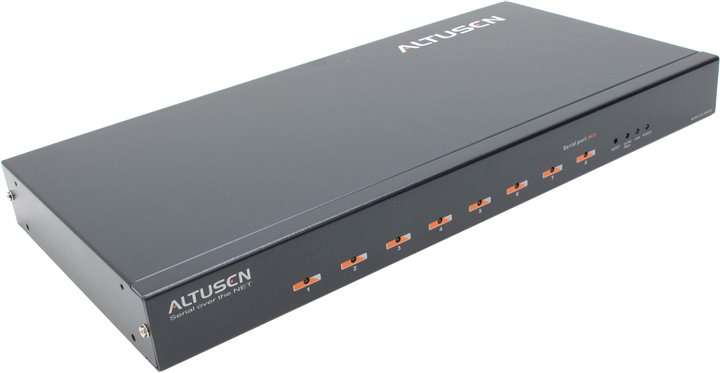Консольный сервер ATEN ALTUSEN &ltSN0108&gt 1U 8-port Serial over the NET