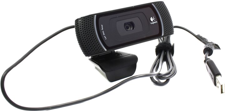 Веб-камера Logitech B910 HD Webcam (OEM) (USB2.0, 1280x720, микрофон) < 960-000684 >