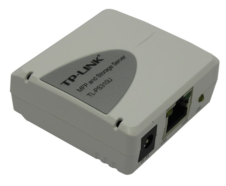 Файловый сервер TP-LINK &ltTL-PS310U&gt MFP&amp:Storage Server (1UTP 10 / 100Mbps, USB)