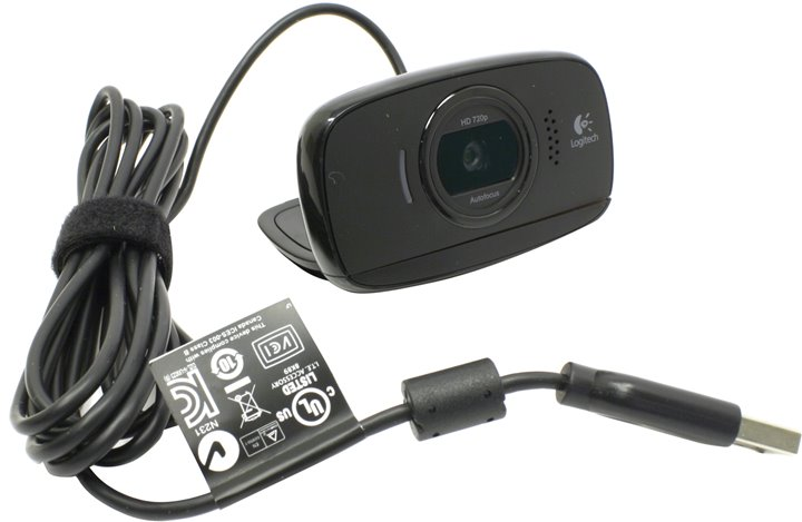 Веб-камера Logitech B525 HD Webcam (OEM) (USB2.0, 1280x720, микрофон) < 960-000842 >