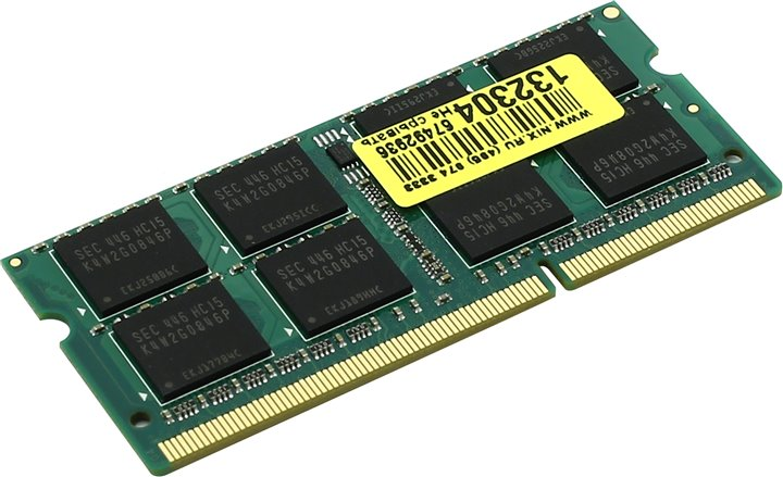Память для ноутбука Corsair Mac Memory &ltCMSA4GX3M1A1333C9&gt DDR3 SODIMM 4Gb &ltPC3-10600&gt CL9 (for NoteBook)