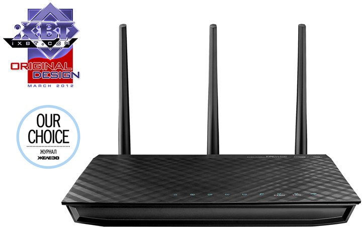 Роутер WiFi (маршрутизатор) ASUS RT-N66U Dual-Band Wireless N900 Gigabit Router (4UTP 10 / 100 / 1000Mbps, 1WAN, 802.11a / b / g / n, 450Mbps, 2xUSB)