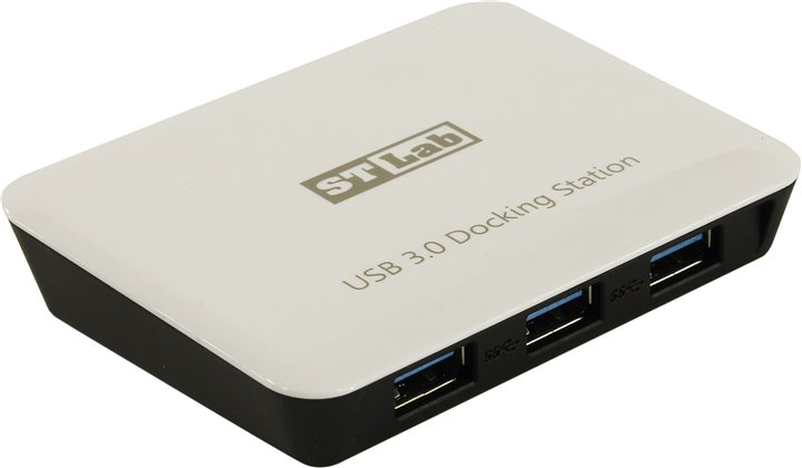 Сетевая карта STLab U-810 (RTL) USB 3.0 Hub Gigabit Ethernet Adapter + б.п.