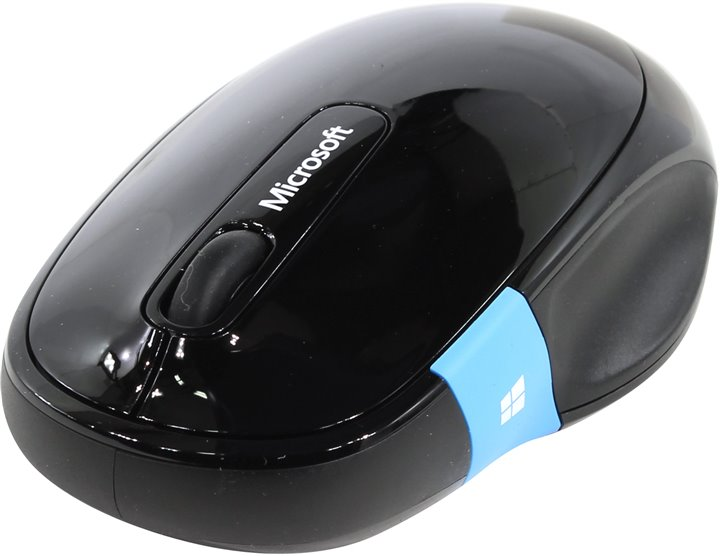 Мышь Microsoft Sculpt Comfort Mouse (RTL) Bluetooth 4btn+Roll < H3S-00002 > (без приёмн)
