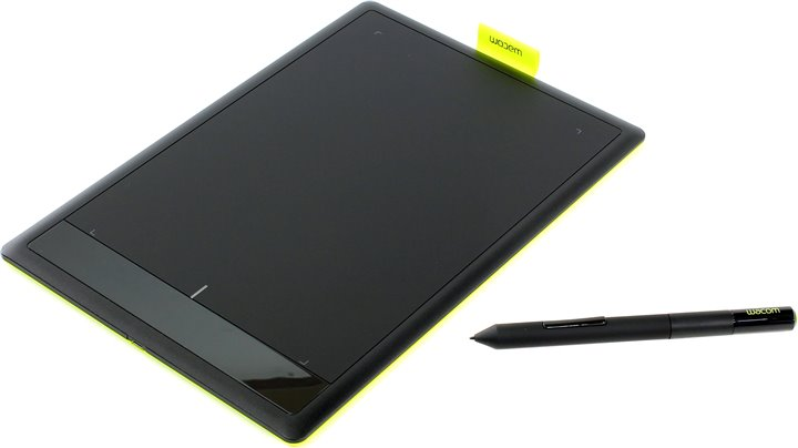 Графический планшет One by Wacom Medium &ltCTL-671&gt (8.5&quotx5.3&quot, 2540 lpi, 1024 уровня, USB)