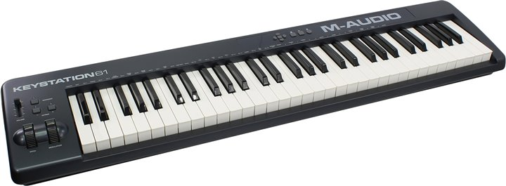 MIDI кл-ра M-Audio Keystation 61-II (61 клавиша, полувзвешенная, Pitch&amp:Modulation, MIDI out, USB)