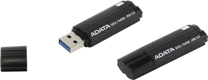 Флешка ADATA Elite S102 Pro < AS102P-64G-RGY > USB3.0 Flash Drive 64Gb
