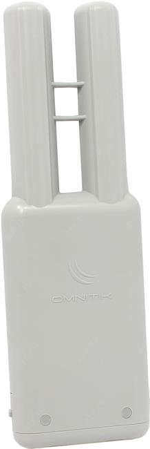 Точка доступа MikroTik < OmniTikU-5HnD > Outdoor 5Ghz PoE Access Point (5UTP 10 / 100Mbps, 802.11a / n, 7.5dBi)