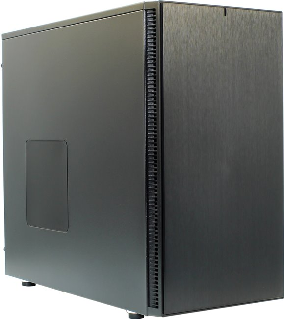 Miditower Fractal Design < FD-CA-DEF-S-BK > Define S Black ATX без БП