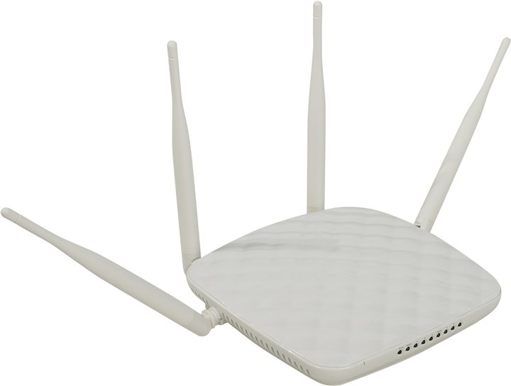 Роутер WiFi (маршрутизатор) TENDA < FH456 > Wireless Router (3UTP 10 / 100Mbps, 1WAN, 802.11b / g / n, 300Mbps, 4x5dBi)