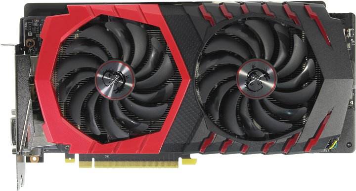 Видеокарта MSI GeForce® GTX 1060 6Gb < PCI-E > DDR5 MSI V328 GTX 1060 GAMING X 6G (RTL) DVI+HDMI+3xDP < GeForce GTX1060 >