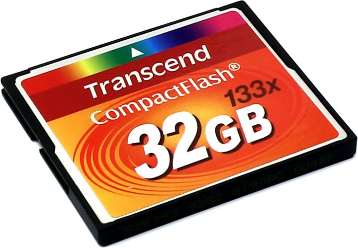 Карта памяти Transcend TS32GCF133 CompactFlash Card 32Gb 133x 073567