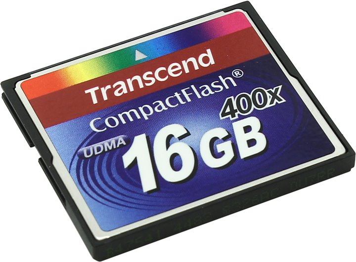 Transcend TS16GCF400 CompactFlash Card 16Gb 400x 093193
