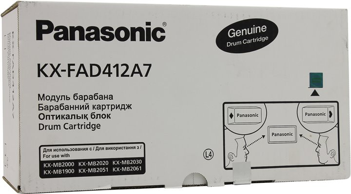 Drum Unit Panasonic KX-FAD412A (7) для KX-MB2000 / 2010 / 2020 / 2025 / 2030