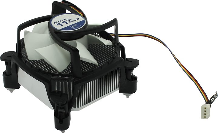 Arctic Cooling Alpine 11 GT (rev.2) Cooler (775 / 1155, 500-2000об / мин, Al)